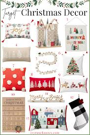 the target christmas decor finds you