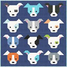 Sew Fresh Quilts: Dog Gone Cute & Here are some examples of how your Dog Gone Cute quilt could look! Adamdwight.com