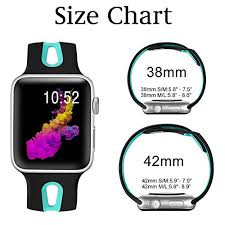 Apple Watch 4 Band Compatibility Chart Kolek Bands Compatible With Apple Watch 38mm 40mm Sports