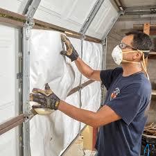exactly how to insulate a garage door