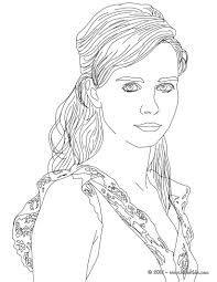 Famous German People Coloring Pages Nora Tschirner German Actress