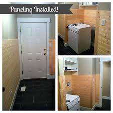 paneling installed