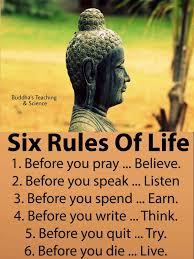 I Testify For Myself That I Have Done All Six Rules Of Life Words