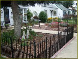 front yard fence. Front Yard Fence Black T