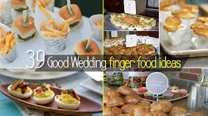 Finger Food Menus For Wedding Receptions