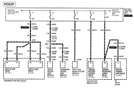 2001 ford f250 super duty fuse wiring diagram trailer owners manual i don t have a picture of the fuse box but fuses 1 3 and 4 are for trailer tow and here are the diagrams for their wiring
