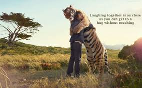 Beautiful Animal Quotes Best of BeautifulHugAnimalTigerAndMenQuotesImages Safari Studio