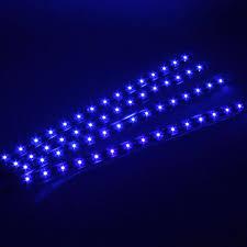 12v Blue Light 4pcs 12v Car Led Bar Lights Car Motorcycle Strip Light Truck