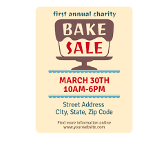Download This Bake Sale Flyer Template And Other Free