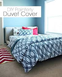 pattern for duvet cover painterly covers queen full size