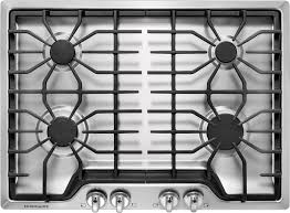 30 inch gas stove top. Simple Inch Frigidaire FFGC3026SS 30 Inch Gas Cooktop With 4 Sealed Burners Cast Iron  Grates ReadySelect Controls Electronic Pilotless Ignition Liquid Propane  Throughout Stove Top G