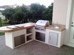 Outdoor Barbecue Kitchen Designs Small Outdoor Kitchen Design Ideas Home Improvement 2017 Best