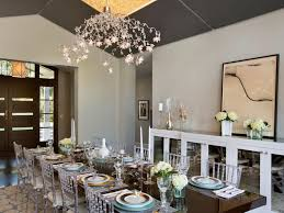 Modern Dining Room Pendant Lighting Concept