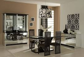 modern dining room wall decor ideas. Large Size Of Dining Room: Modern Room Ideas With Glass Table Black Solid Wood Wall Decor