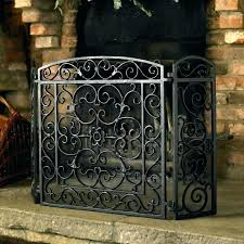 rustic fireplace screen attractive iron fireplace screens with rustic fireplace screen vintage fireplace screen vintage french