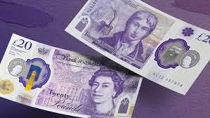 Fake 20 Pound Note Under Uv Light