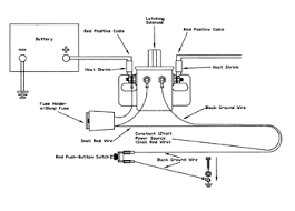 battery disconnect switch wiring diagram battery hotrod md jim clark installing a battery disconnect on battery disconnect switch wiring diagram