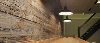 rustic wood wall paneling