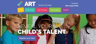 Kids School Website Template Top 10 Examples Of Best Education Website Design