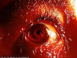Cruel red eye - Gothic Art Free Desktop ...