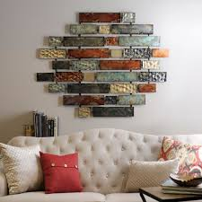 over the couch metal wall art kirkland s