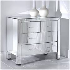 Mirrorred furniture Dressing Chest Of Drawers Homesdirect365 Mirrored Furniture And Mirrored Bedroom Furniture