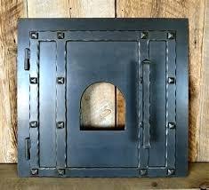 brick oven door rustic pizza oven door old wood fired oven door authentic brick oven door brick oven door