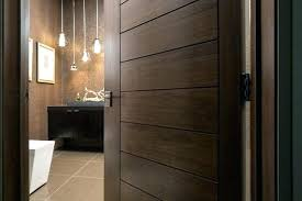 interior solid door interior wood door modern home interior solid wood walnut door modern bathroom interior