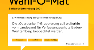 Wahlomat bundestagswahl 2021 (bt 2021/btw 2021). Innenministerium Widerspricht Querdenker Frage Im Wahl O Mat