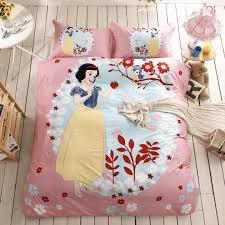 Snow White Bedding Set 100% Cotton