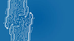 Background Blue Chip Circuit Intelligent Futuristic Chip