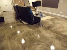 Concept Epoxy Flooring Basement Options Finish O Inside Impressive Design