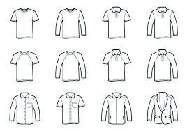Tee Shirts Templates T Shirt Free Vector Art 1158 Free Downloads