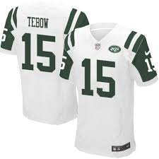 Tebow Lights New Jets York 15 Tim Out Jersey Black