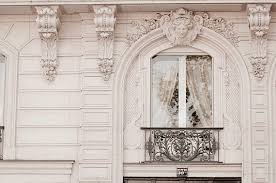 Small Picture Paris Photograph Baroque Window Classic Black and White