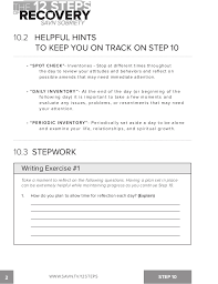 10Th Step Inventory Worksheet Worksheets for all   Download and ...