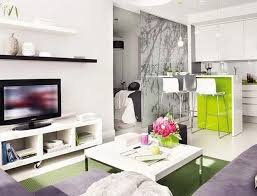 furniture for studio apartment. Comely Open Plan Living Space Small Apartment Design Ideas With Simple And Beautiful Room : Furniture For Studio