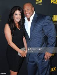 Bodybuilder Phil Heath and wife Jenny Heath attend the Los Angeles... News  Photo - Getty Images