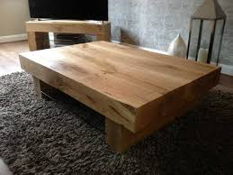 a chunky arabica 4 beam coffee table and mantis tv table