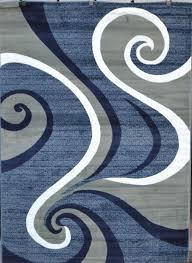 purple gray rug red