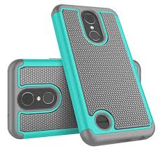 LG K20 V Case, Plus Harmony / V5 K10 2017 Case For Girls, Tekcoo [Tmajor] Shock Absorbing [Turquoise] Rubber Plastic Scratch Resistant