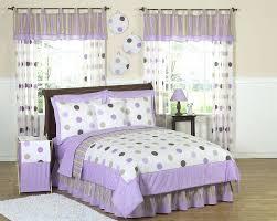 kid bedding set purple brown polka dot circle bedding twin full queen girls purple brown polka kid bedding