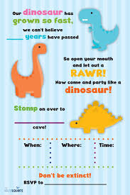 free dinosaur party invitations rawr free dinosaur birthday party printables my silly squirts