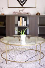 12 round coffee tables we love theeverygirl international luxe coffee table 115