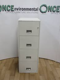 Fire Proof Filing Cabinets Furniture Office Used Office Storage Chubb 4 Drawer Fireproof