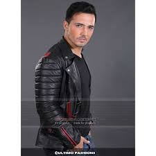 blue valentine ryan ghosling black slim fit leather jacket