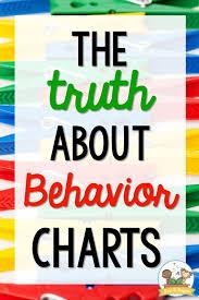 Behavior Charts For Preschool Pre K Kindergarten Preschool