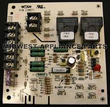 lennox furnace control board. carrier gas furnace circuit control board 302075-3 lennox a