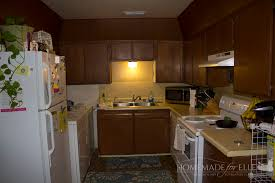 paint kitchen cabinets without sandingHow to Paint Cabinets without Sanding  Homemade for Elle