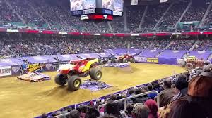 Greensboro Coliseum Seating Chart Monster Jam Carolina Crusher Greensboro Coliseum 1 10 2015 Youtube